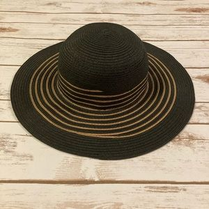 Target Black and Taupe Sun Hat